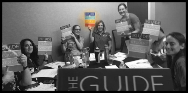 Arizona teachers salute The Guide to Student Voice by Adam Fletcher
